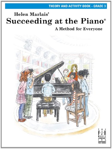 9781569399958: Succeeding at the Piano, Theory and Activity Book, Grade 3