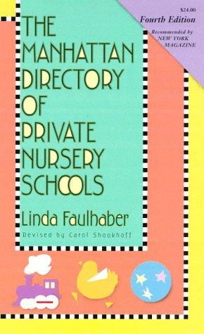 9781569471289: The Manhattan Directory of Private Nursery Schools