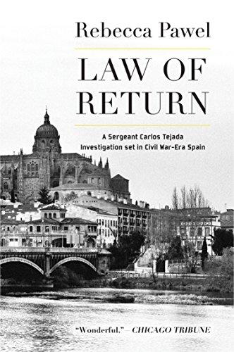 9781569473801: Law of Return (Carlos Tejada Alonso y Leon Investigation Set in Spain)