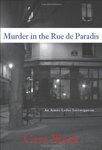 Murder on the Rue de Paridis: Black, Cara