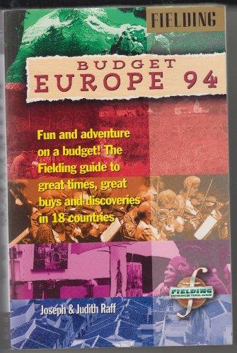 Fielding's Budget Europe: 1994: RAFF