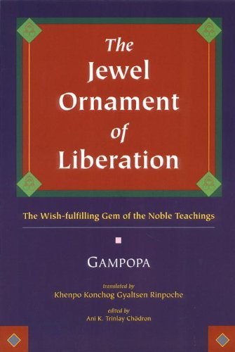 The Jewel Ornament of Liberation: Herbert V. Guenther