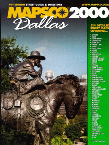 Dallas Street Map Guide and Directory, 2000 Edition (Dallas Street Guide and Directory, 2000): ...