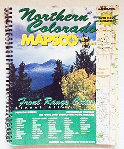9781569661963: Street Atlas North Colorado Front Range