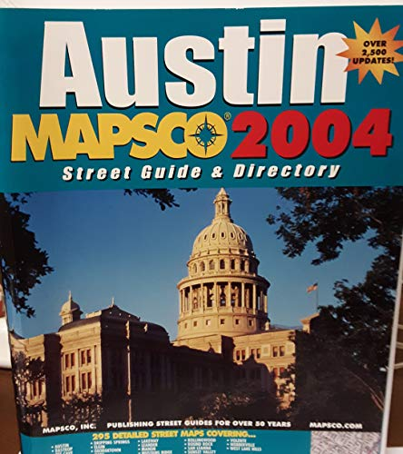 Mapsco Street Guide & Directory Austin 2004