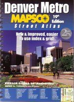 9781569662182: Denver Metro Street Atlas 19th Edition