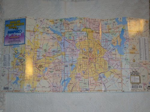 9781569662335: Dallas Fort Worth Sealmap with Detailed Maps of Dallas/Ft. Worth Metroplex