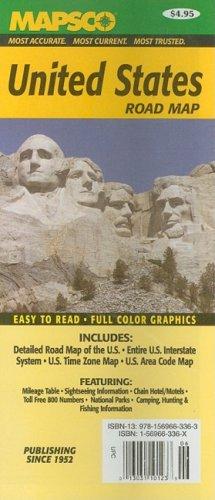 Mapsco United States Road Map