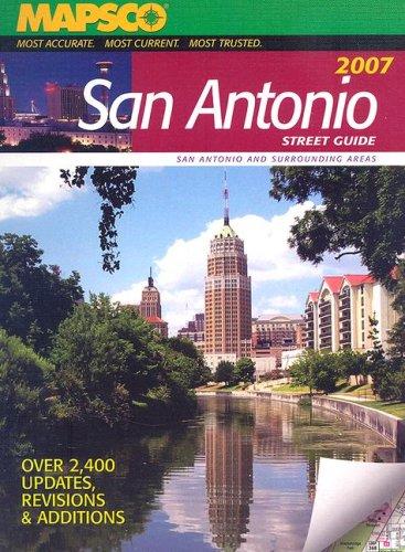 9781569663523: San Antonio Street Guide 2007