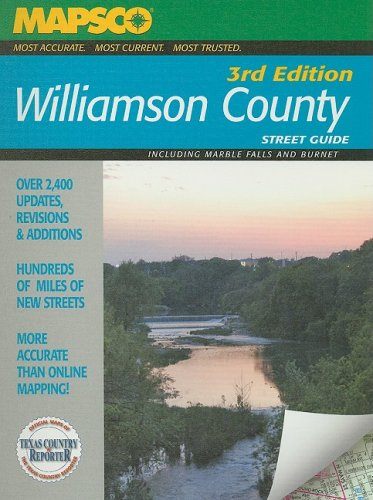 Mapsco Williamson County Street Guide: Including Marble Falls and Burnet (MAPSCO Street Guide)