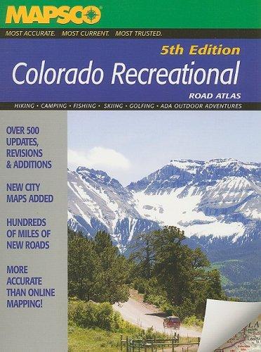 9781569664469: Mapsco Colorado Recrational Road Atlas 5th Edition