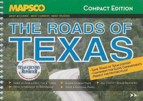 9781569664520: The Roads of Texas (MAPSCO Compact)