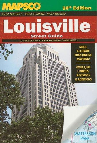 9781569664575: Mapsco Louisville Street Guide 10th (MAPSCO Street Guide)