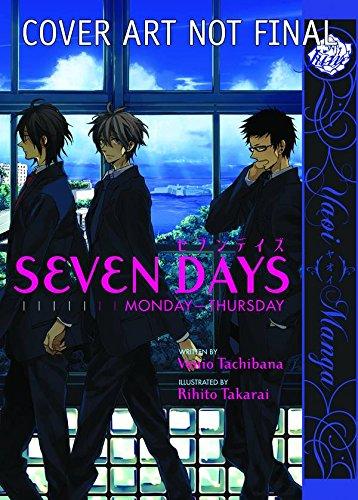 9781569700662: Seven Days:  Monday - Thursday (Yaoi) (Yaoi Manga)