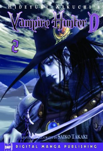 Hideyuki Kikuchi's Vampire Hunter D Manga Volume 2 (Vampire Hunter D Graphic Novel) (v. 2)