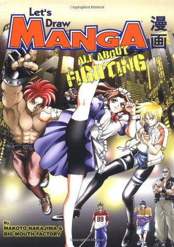 9781569709870: Let's Draw Manga: All About Fighting