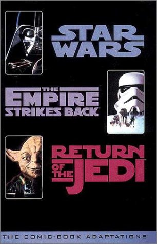 Star Wars Trilogy Comic Book Adaptation