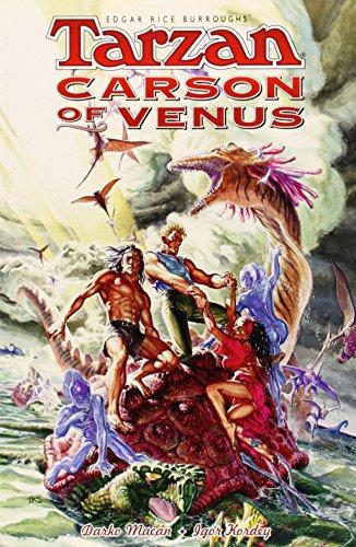 9781569713792: Edgar Rice Burroughs' Tarzan/Carson of Venus