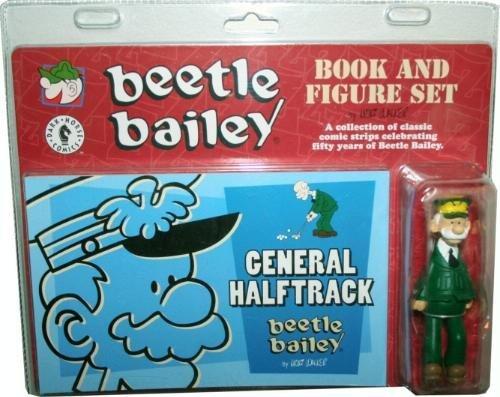 Beetle Bailey General Halftrack Book and Figure Set: Mort Walker