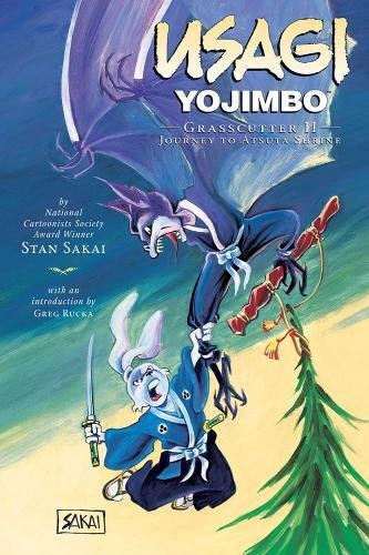 Grasscutter II: Journey to Atsuta Shrine (Usagi Yojimbo, Book 15): Stan Sakai