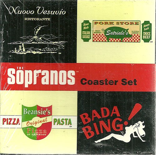 9781569716960: The Sopranos Coaster Set