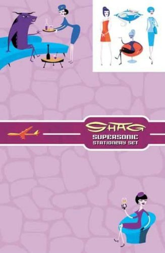 Dark Horse Deluxe Stationery Exotique: Shag's Supersonic (1569717710) by Shag