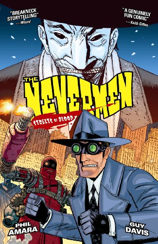 9781569718230: Streets of Blood (Nevermen, Book 2)