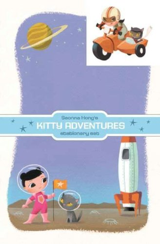 9781569718766: Dark Horse Deluxe Stationery Exotique: Seonna Hong Kitty Adventures