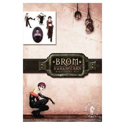 9781569719299: Dark Horse Deluxe Stationery Exotique: Brom Darkwerks