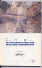 Green Ledgers: Case Studies in Corporate Environmental Accounting: Ditz, Daryl, Ranganathan, Janet