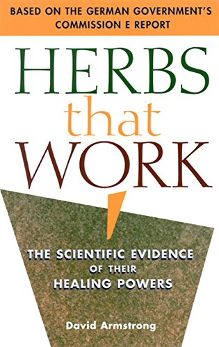 9781569752111: Herbs at Work: A Consumer's Guide to the Scientific Evidence
