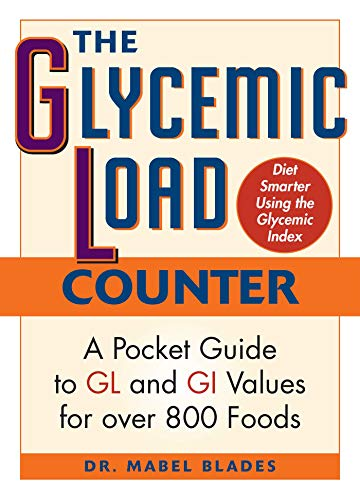 9781569756645: The Glycemic Load Counter: A Pocket Guide to GL and GI Values for over 800 Foods