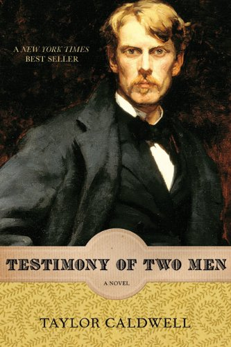 9781569763278: Testimony of Two Men: A Novel (Rediscovered Classics)