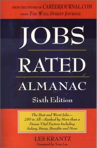 9781569802243: Jobs Rated Almanac: The Best and Worst Jobs - 250 in All - Ranked by More Than a Dozen Vital Factors Including Salary, Stress, Benefits, and More (Jobs Rated Almanac, 6th Ed, 2002)