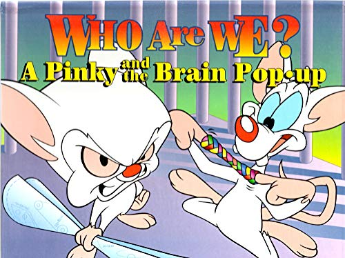 9781569817919: Who Are We? A Pinky and the Brain Pop-up