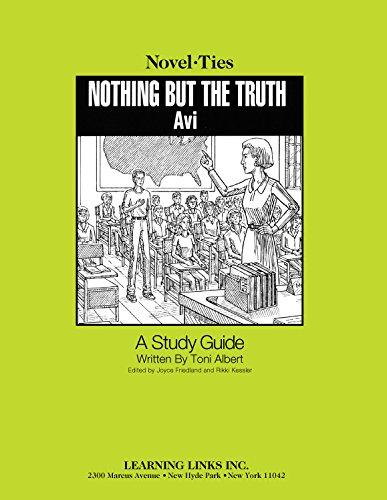 Nothing But the Truth (Novel-Ties): Toni Albert; Editor-Joyce