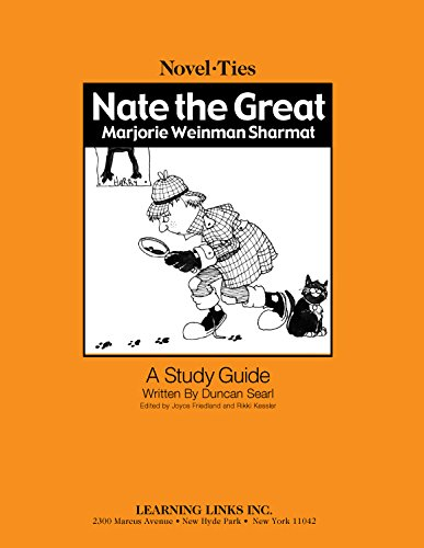 9781569826027: Nate the Great: Novel-Ties Study Guide