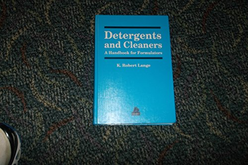 9781569901670: Detergents and Cleaners: A Handbook for Formulators