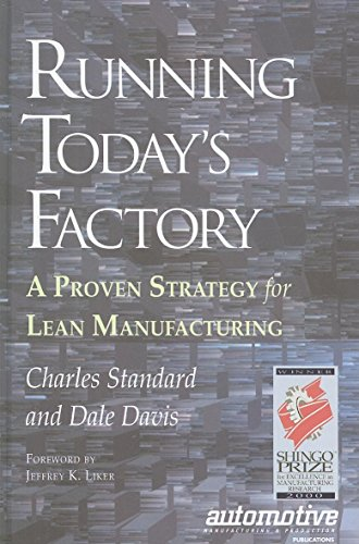 9781569902578: Running Today's Factory: A Proven Strategy for Lean Manufacturing