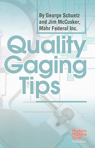 9781569903919: Quality Gaging Tips (Modern Machine Shop Books)