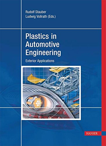 9781569904060: Plastics in Automotive Engineering: Exterior Applications