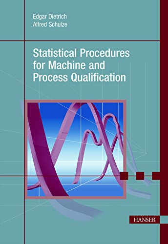 9781569904695: Statistical Procedures for Machine and Process Qualification
