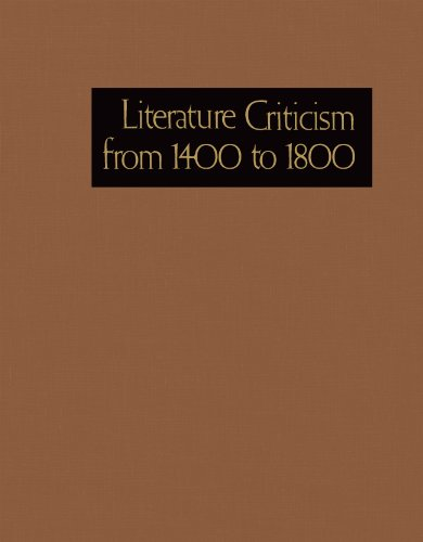 9781569956526: Literature Criticism from 1400 to 1800