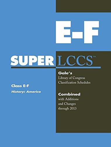 9781569959848: SUPERLCCS 13: SCHEDULE E-F HISTORY: AMERICA