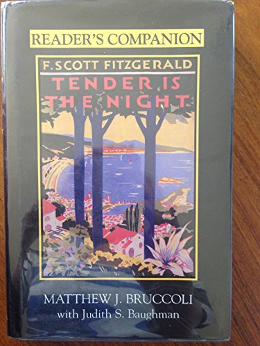 9781570030789: Reader's Companion to F. Scott Fitzgerald's Tender Is the Night