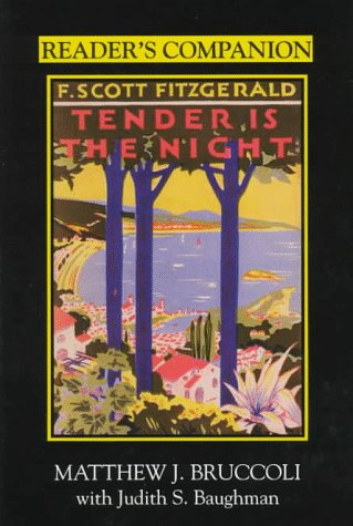 9781570032233: Reader's Companion to F. Scott Fitzgerald's Tender Is the Night