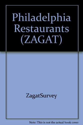 Zagatsurvey 1998 Update Philadelphia Restaurants (Annual) (1570061068) by Zagat Survey