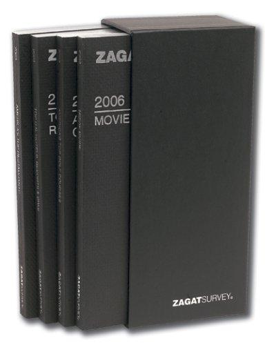 2006 Executive Box Set (4 Deluxe Guides): Zagat Survey