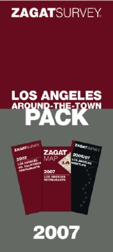 Zagat 2007 Los Angeles Around-the-town Pack: Zagat Survey