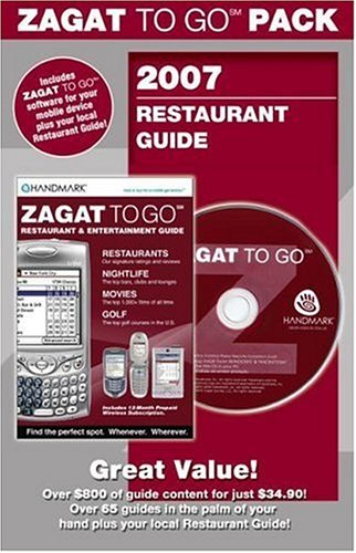 Zagat to Go Pack Los Angeles 2007: 2007 Los Angeles/so. California Restaurants (Zagat to Go Packs):...
